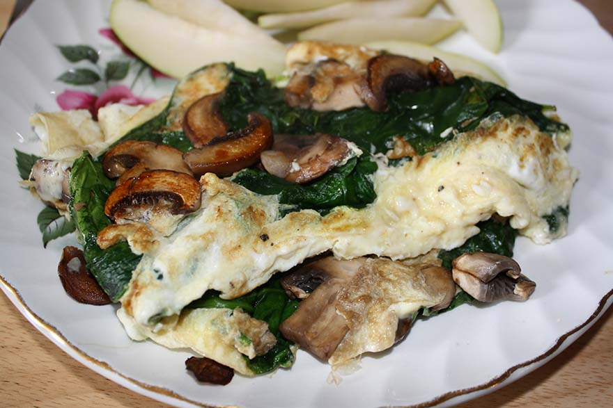 eggs-mushrooms-spinach