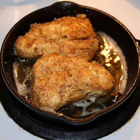 double dipped chicken frying