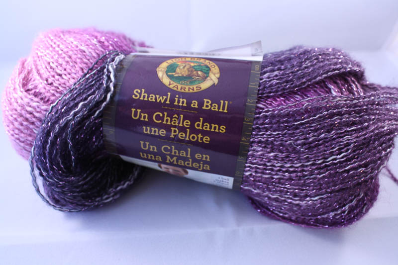 Shawl in a Ball in Lotus Blossom