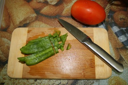 Diced Green Pepper