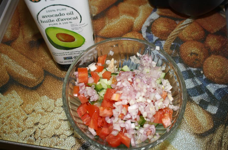 Tuna Salad with Lemon and Avocado Oil