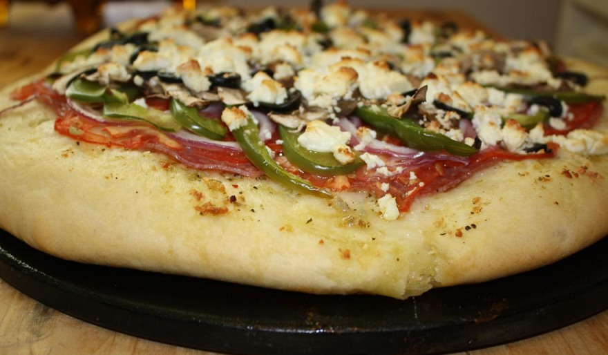 Greek Style Pizza