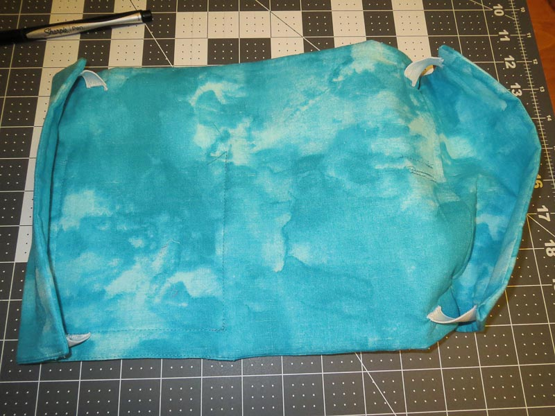 Inner cover with elastic