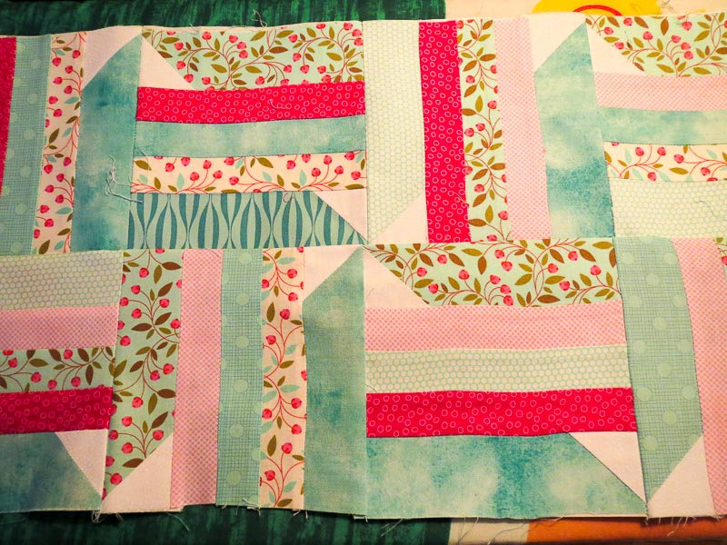 Pins and Stripes - 2 rows