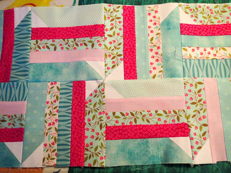 Pins and Stripes 2 Rows