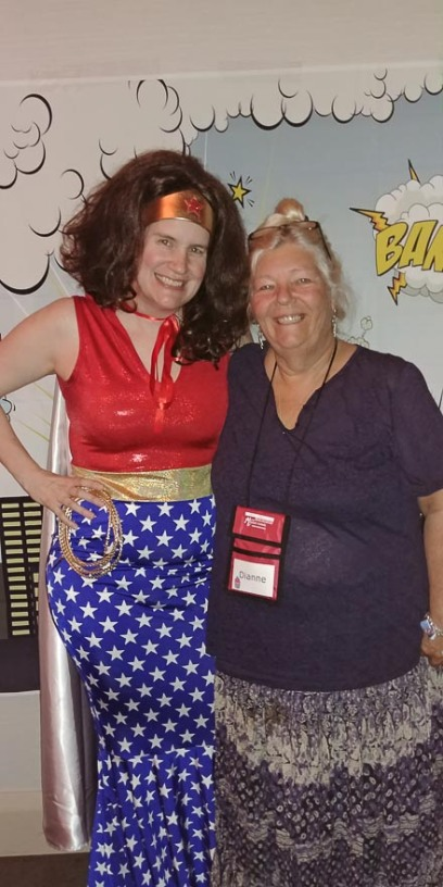 Wonder Woman (Susan Stoker) and Dianne