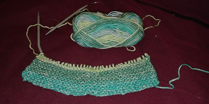Garter Stitch Dish Cloth