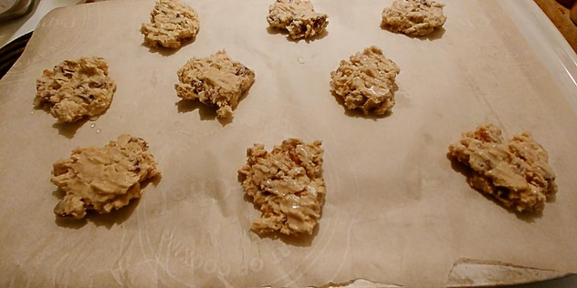 Cookies ready to bake