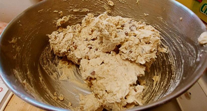 Dough ready for baking