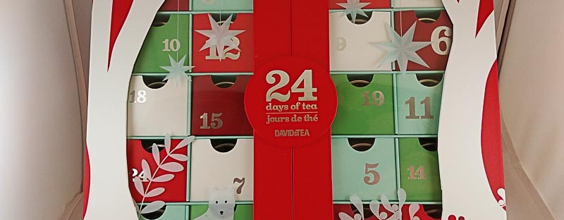 David's Tea Advent Calendar 2017