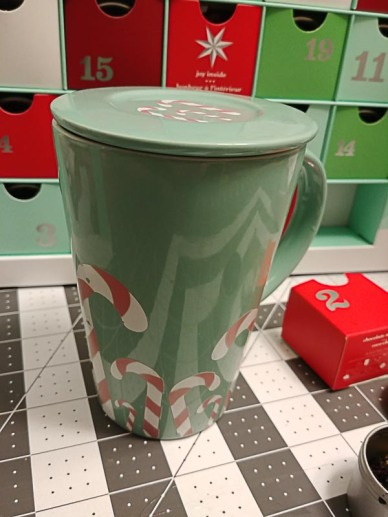 Colour Changing Candy Cane Mug