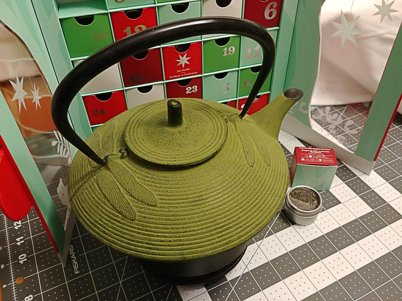 Iron Tea Pot