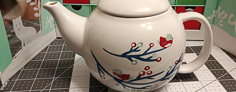 Wintry Teapot