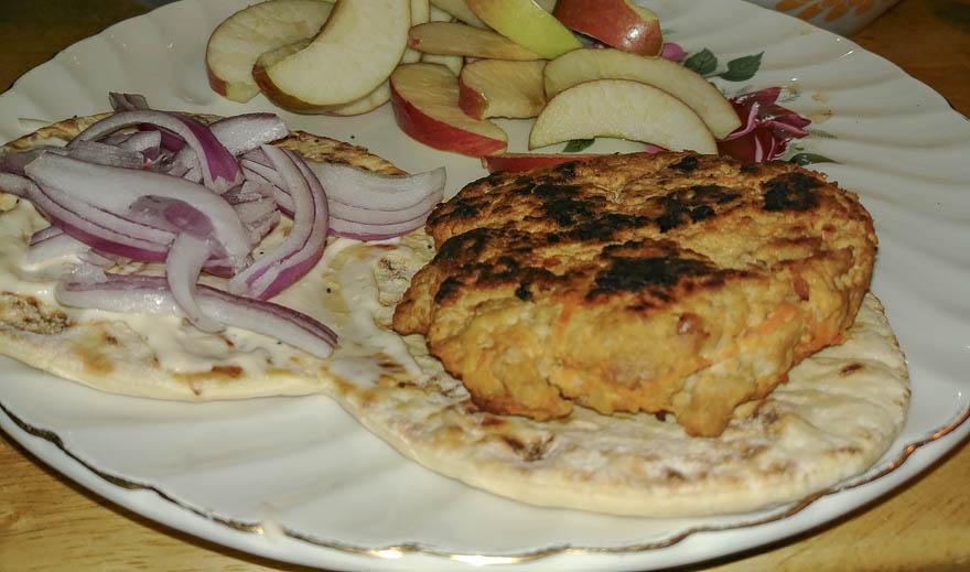 Buffalo Turkey Burger