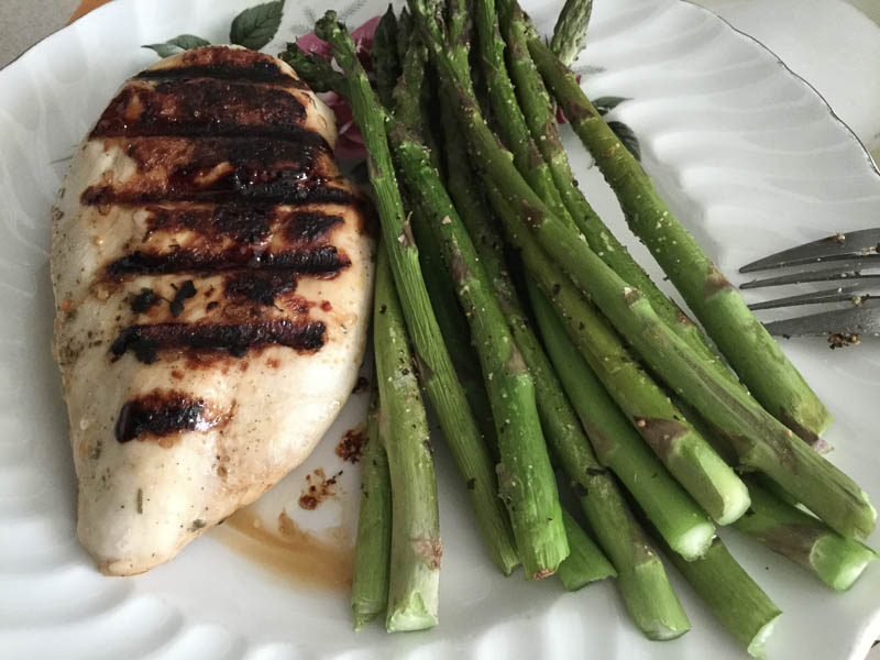 Maple Grilled Chicken