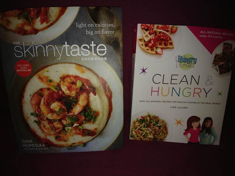 My new cookbooks