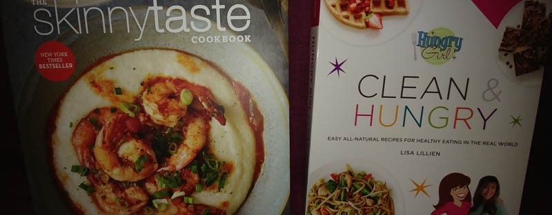 My new cookbooks