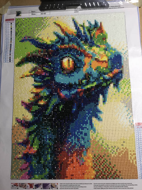 Dragon diamond painting